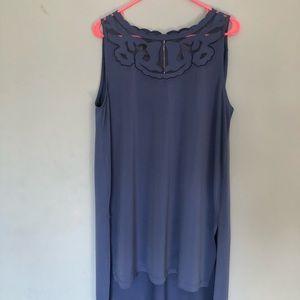 Blue Long tunic